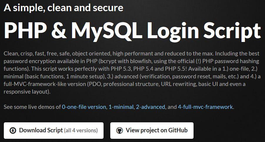 Sistema de usuarios login PHP y MySQL