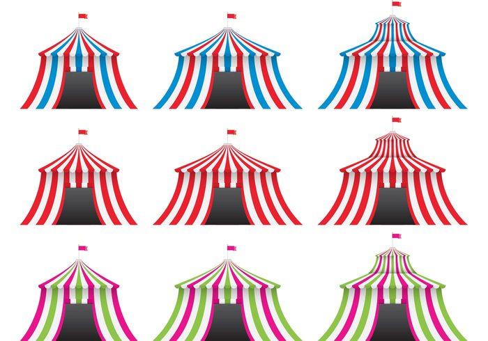 carpas-circo-vector