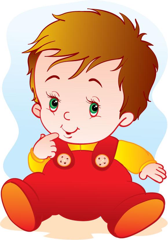 Vectores de bebés para descargar gratis