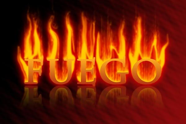 Efecto de texto de fuego con Photoshop