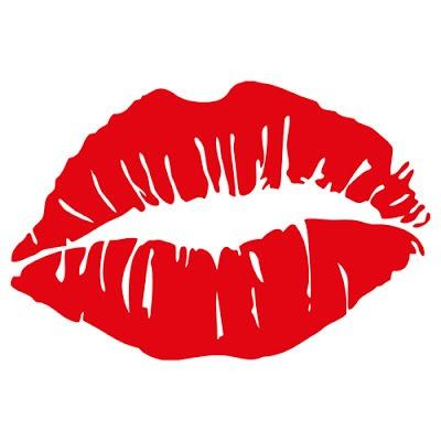Vectores de marcas de labios