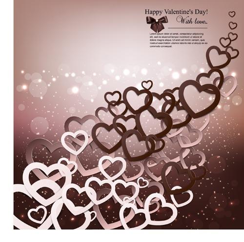 Tarjetas de San Valentín gratis en vector