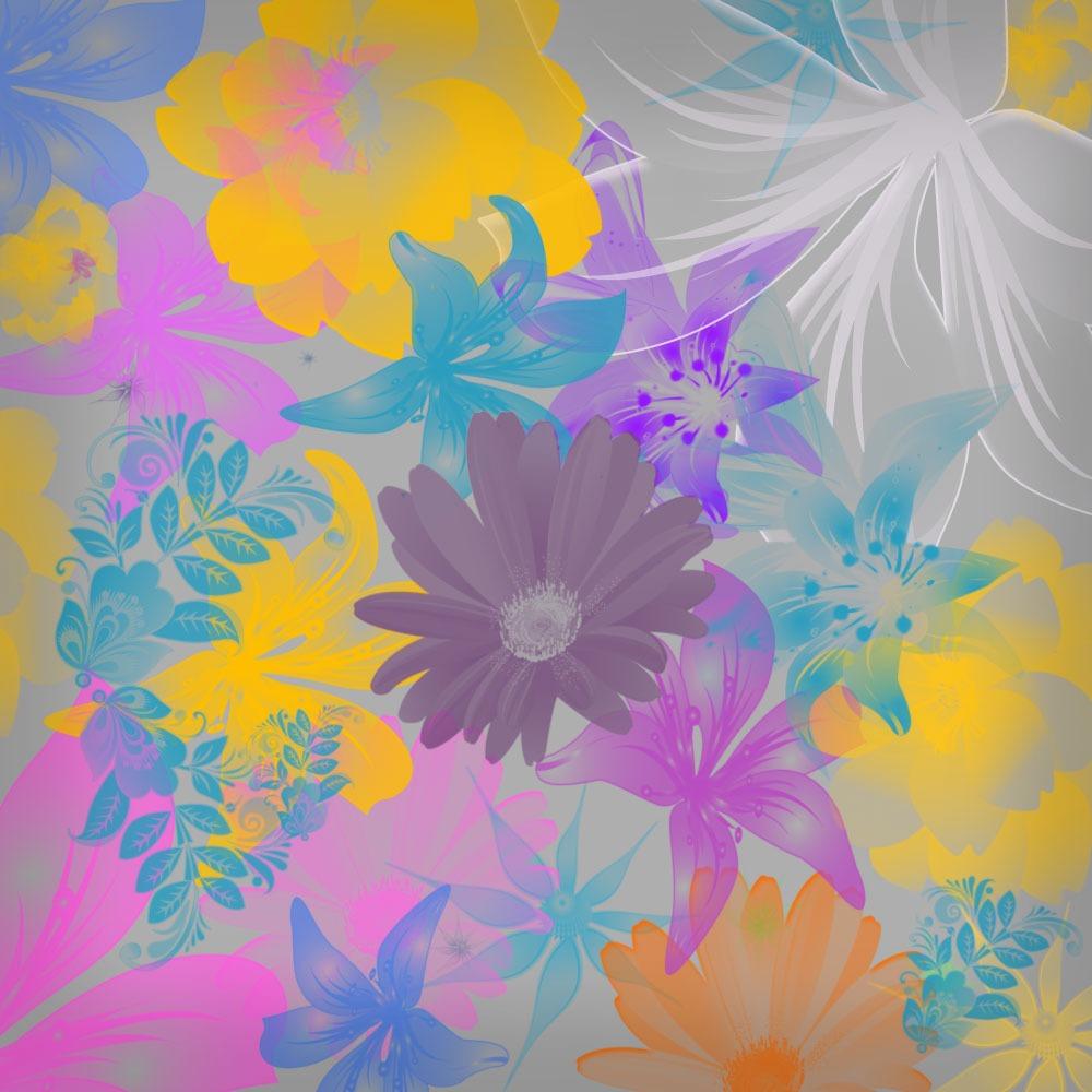 Pinceles de flores para Photoshop