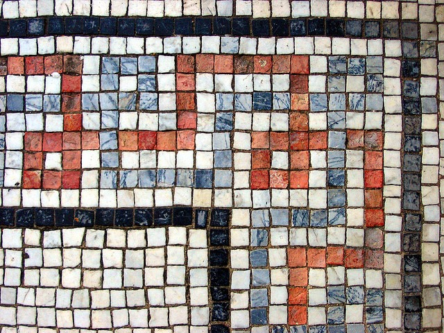 Texturas de mosaicos gratis