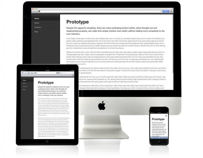 Menús para diseño web responsive