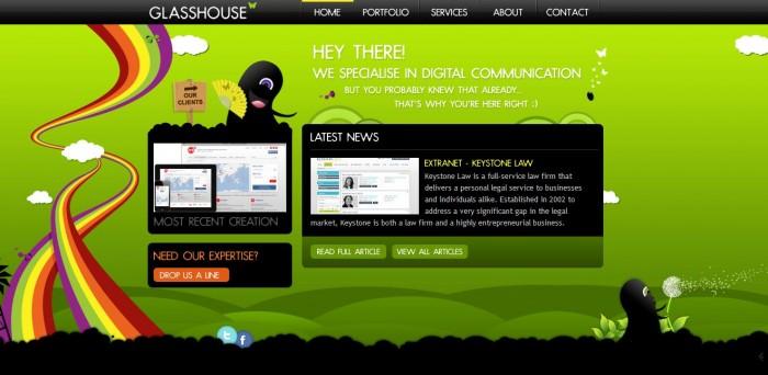 Increíbles páginas web con scroll horizontal