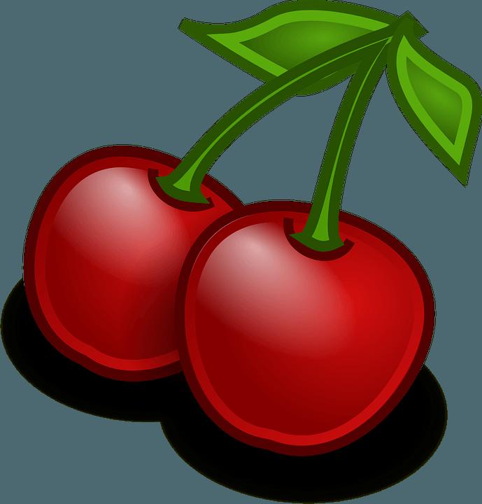 vector-cerezas-dibujadas