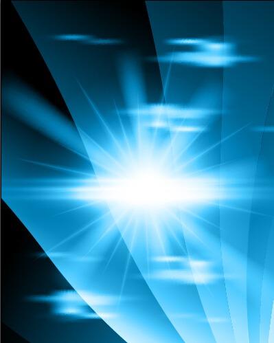 fondos abstractos azules