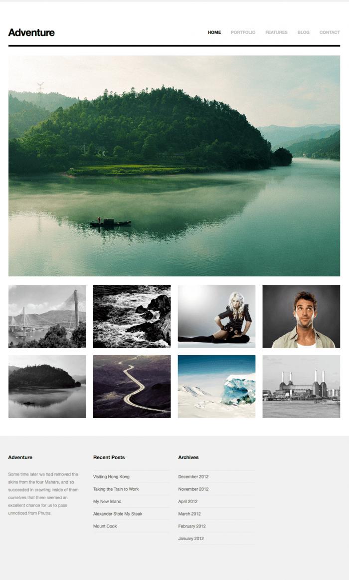 Excelentes temas de wordpress para fotografos – galerías de fotos y portfolio