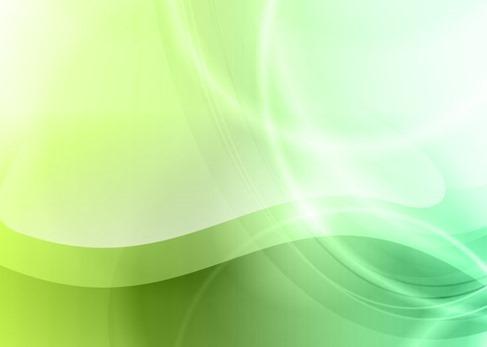 Originales fondos abstractos verdes en vector