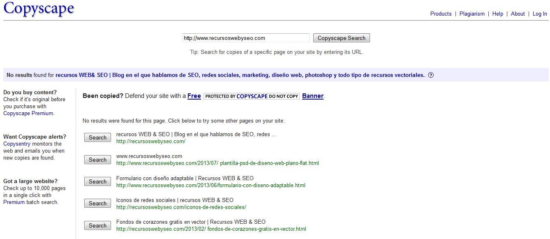 Como sabes si están copiando contenido de tu web
