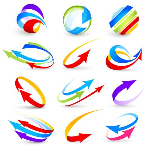 flechas para logos