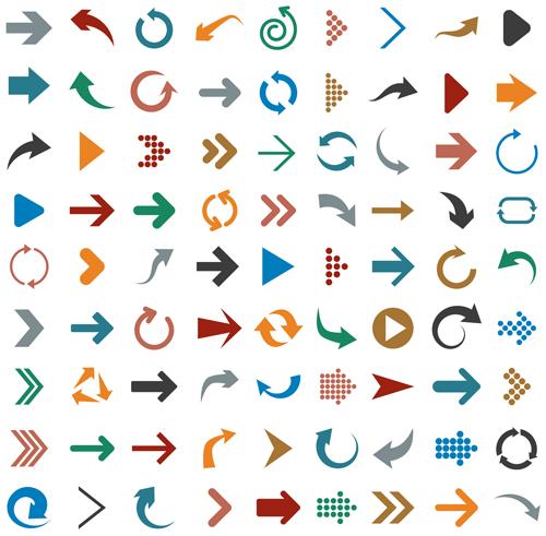 vectores flechas