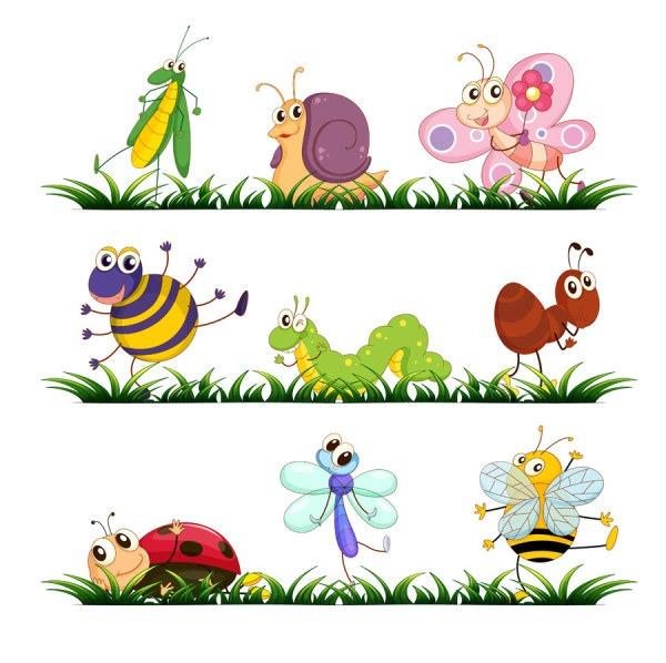 vectores de insectos
