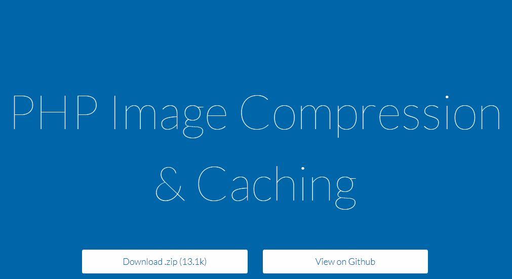 Cómo comprimir imágenes con PHP