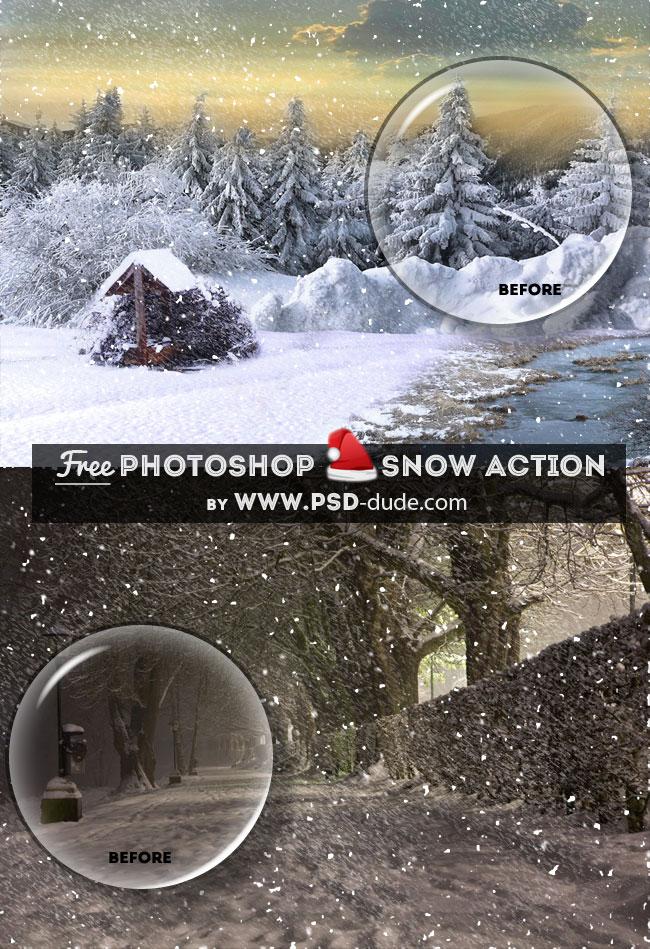 acciones-nieve-photoshop