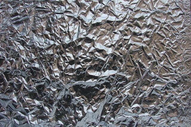Texturas de papel de aluminio gratis