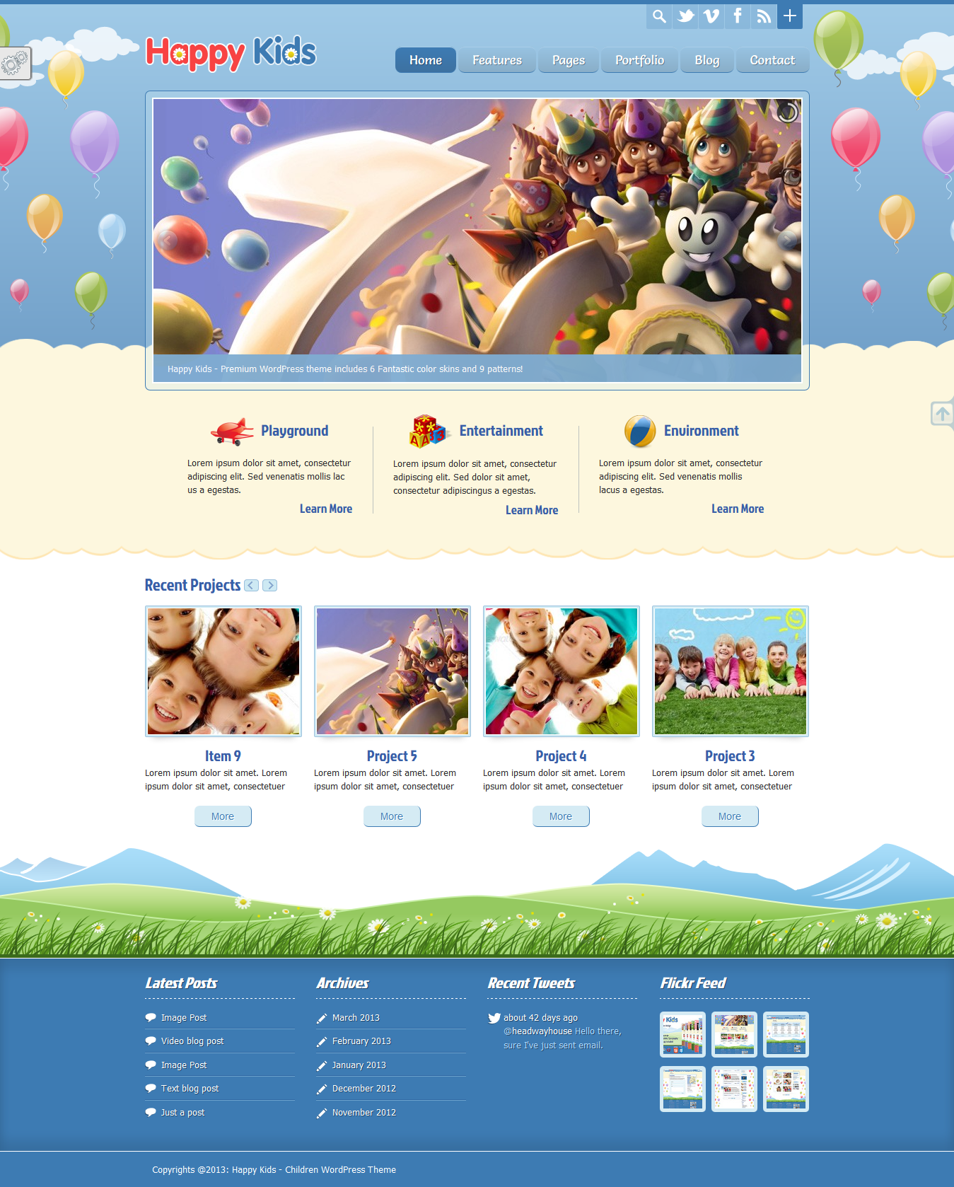 temas wordpress infantiles