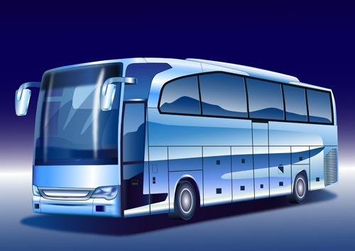 autobús vector
