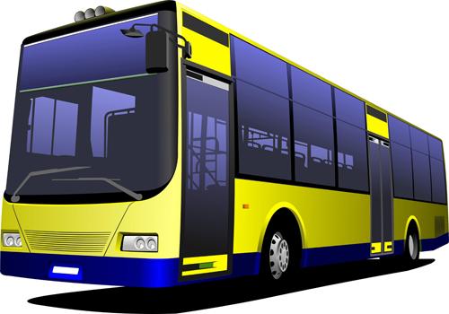 vectores autobuses gratis