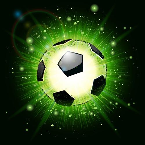 Vectores de fútbol gratis