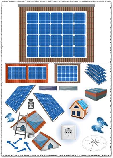 vectores-paneles-solares