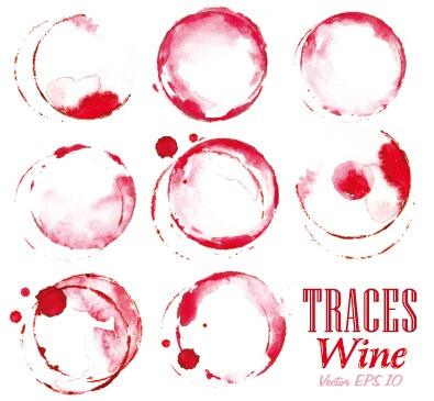 Vectores de marcas de vino