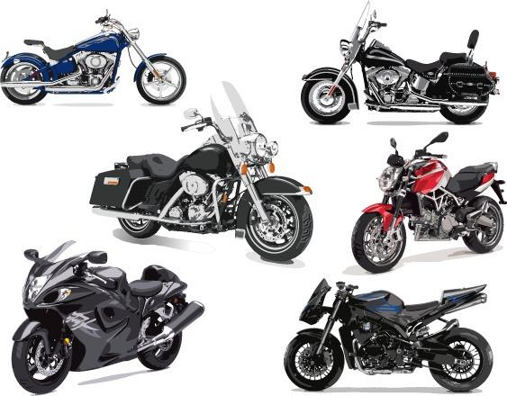 Vectores de motos