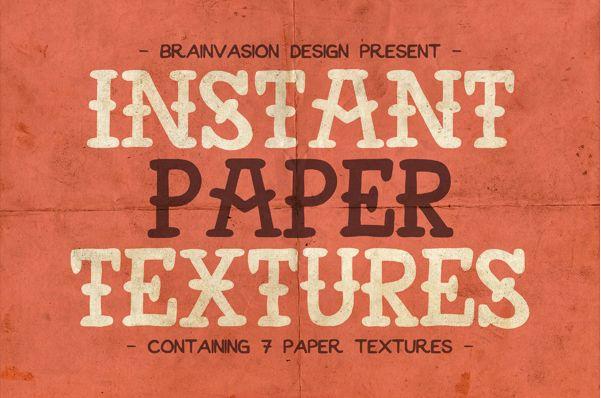 Texturas de papel gratis en alta resolución