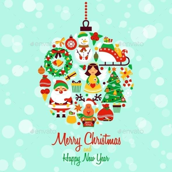 "Responses to ""Vectores de postales de navidad gratis 2014"""