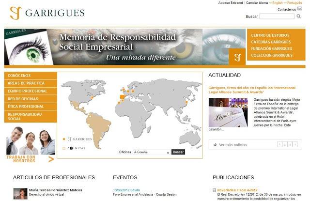 Paginas web de abogados para inspirarse
