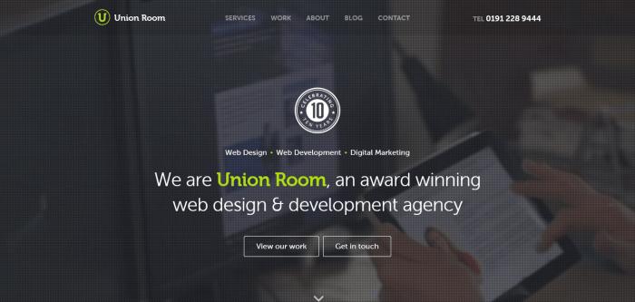 Los botones ghost para conseguir un diseño web minimalista