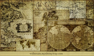 Pinceles de mapas para Photoshop (photoshop map brushes)