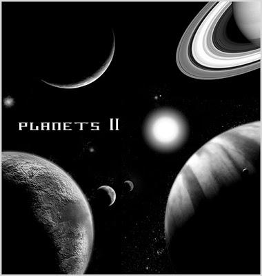 Pinceles de planetas para Photoshop