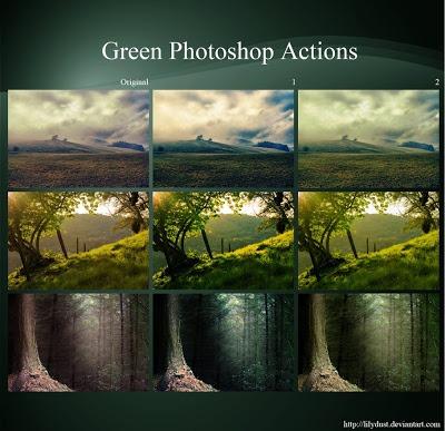Acciones de Photoshop para fotógrafos