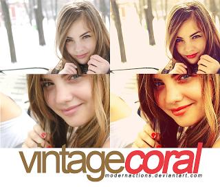 Colección de acciones vintage para Photoshop