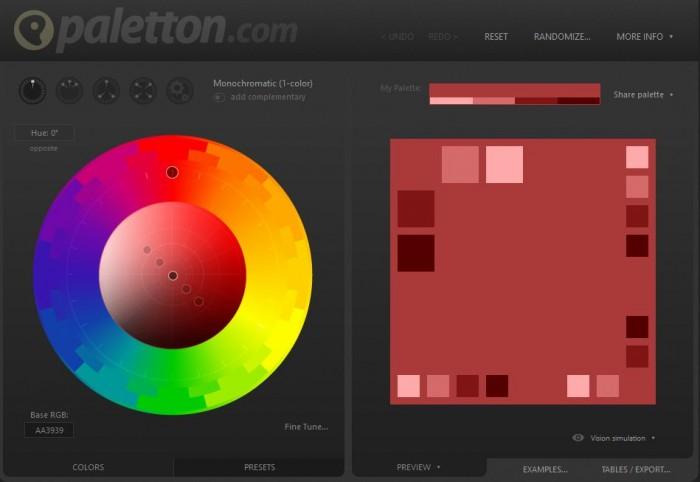 El uso de los colores en diseño web