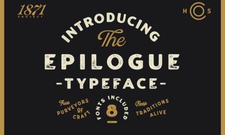 Tipografía gruesa estilo desgastado para tus diseños