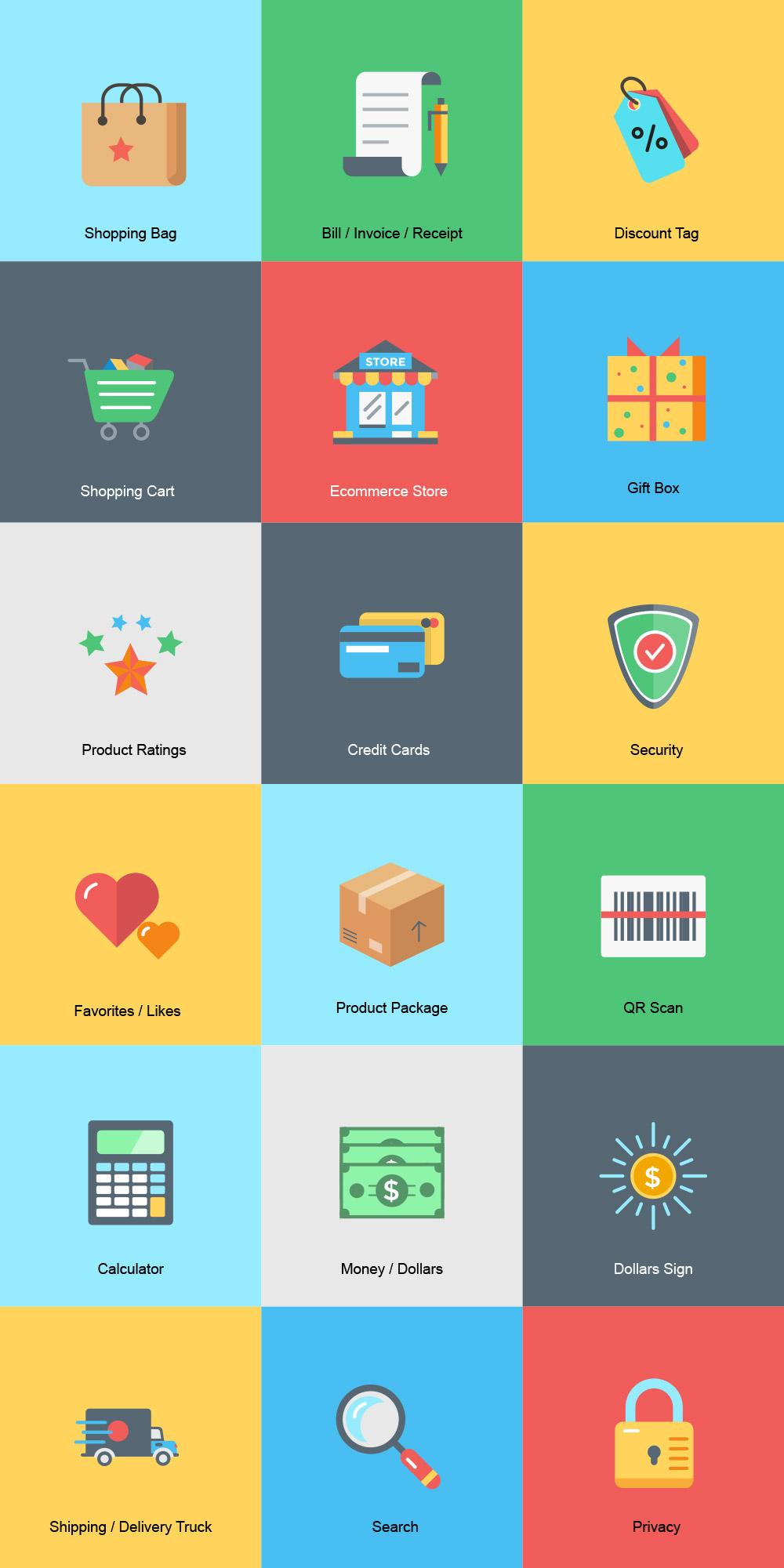 iconos-ecommerce-colores