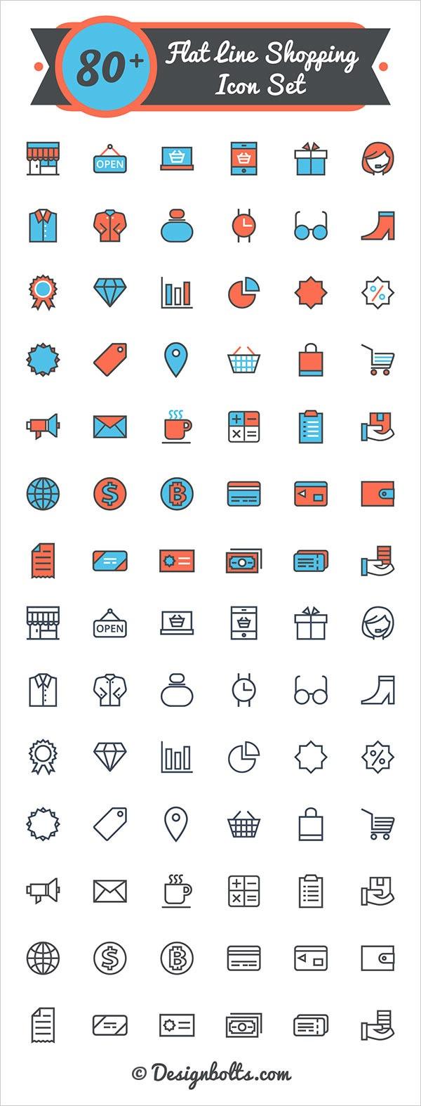 iconos-tiendas-online-vector