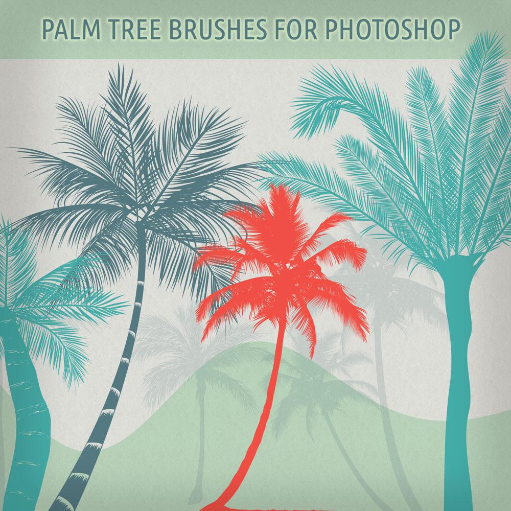 pinceles-palmeras-photoshop-gratis