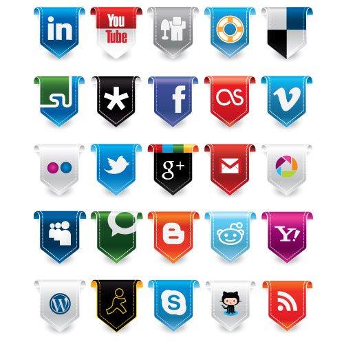 iconos redes sociales ai