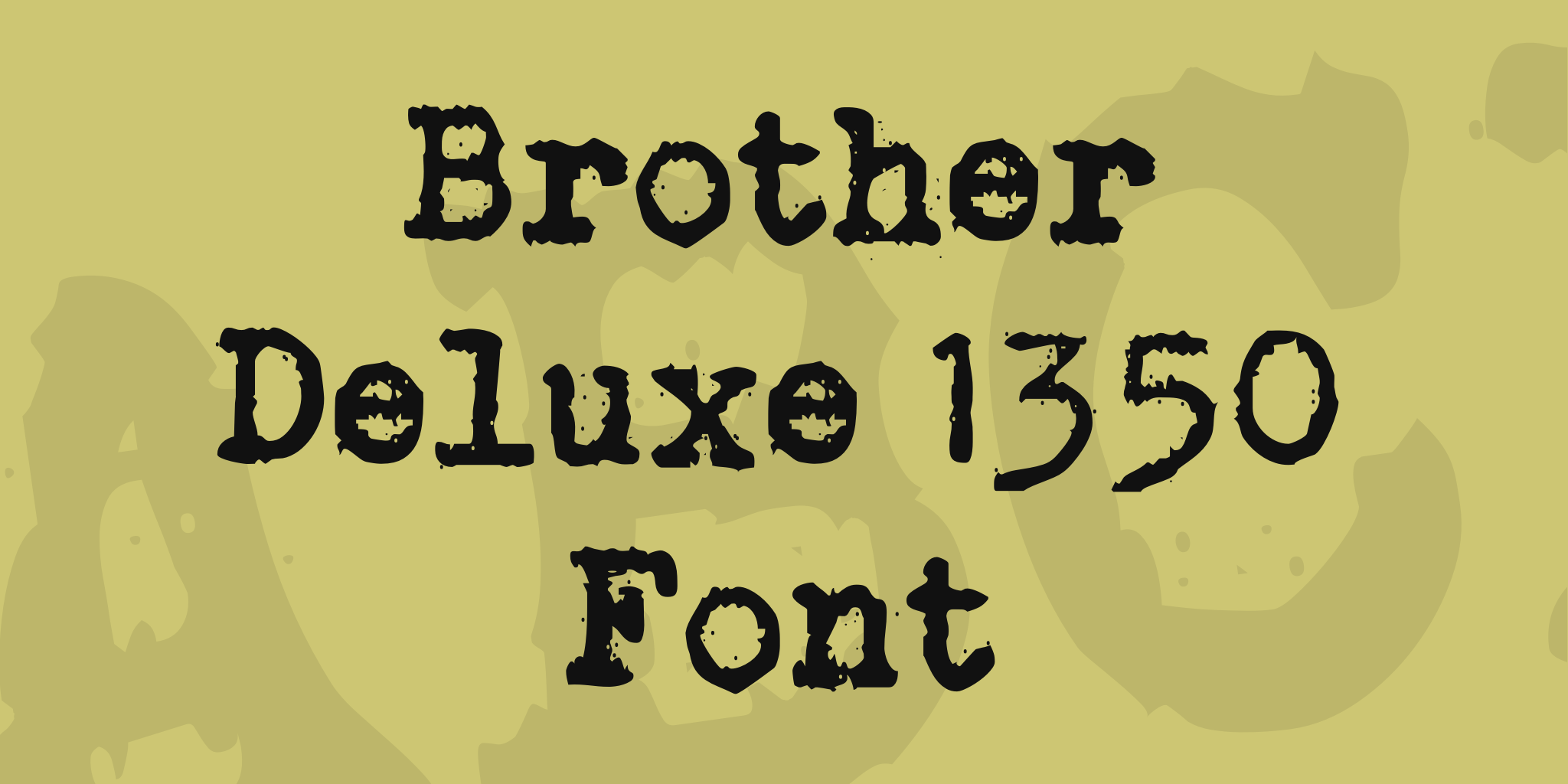 Tipografía máquina de escribir