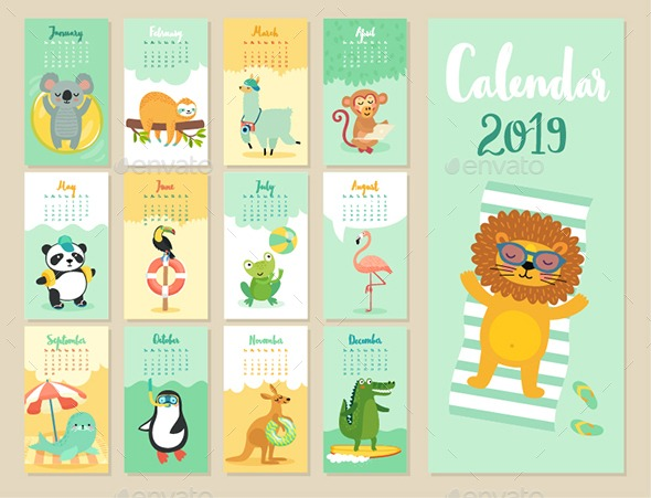 calendario 2019 ai