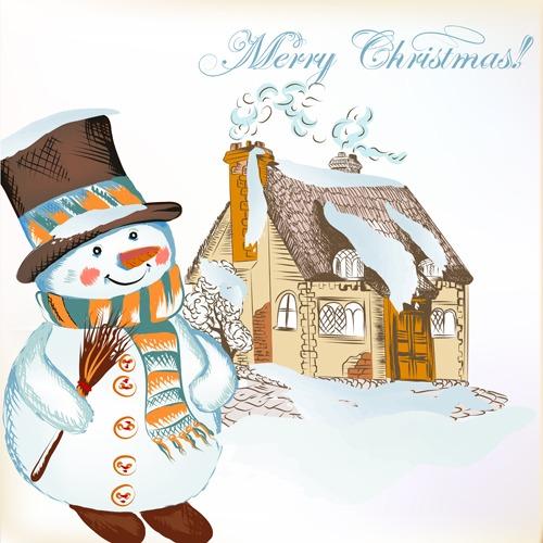 Magníficos vectores navidad gratis