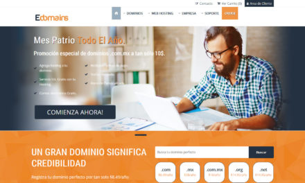 Analizando Edomains: empresa registradora de dominios