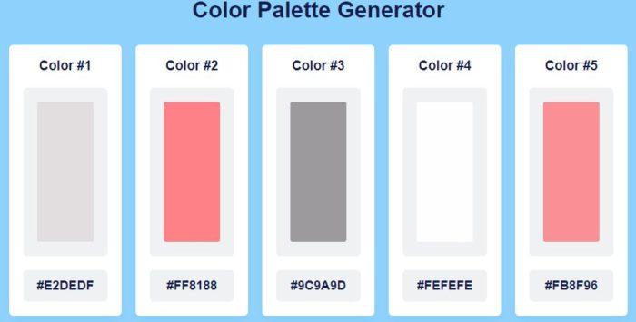 palettegenerator colorion