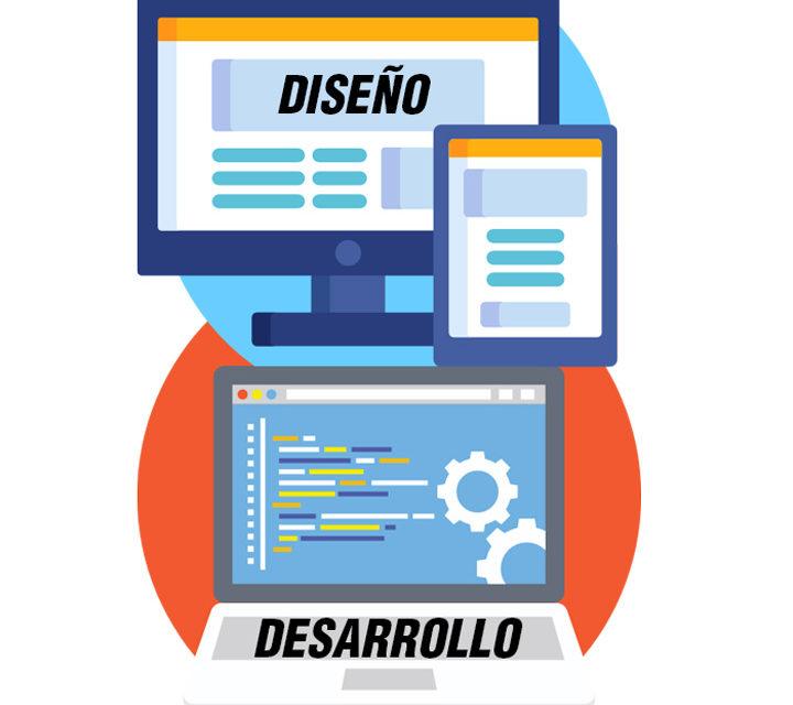 ¿Cuáles son las diferencias entre diseño y desarrollo web?