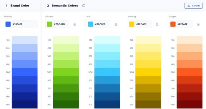 colors eva design