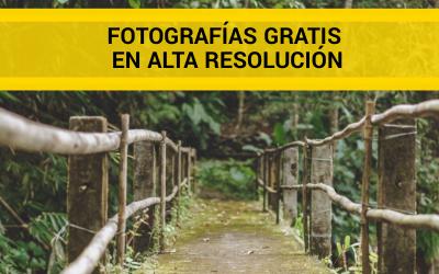 Descargar fotografías gratis en alta resolución